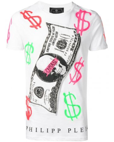 T-Shirt platinum mm giro Dollar