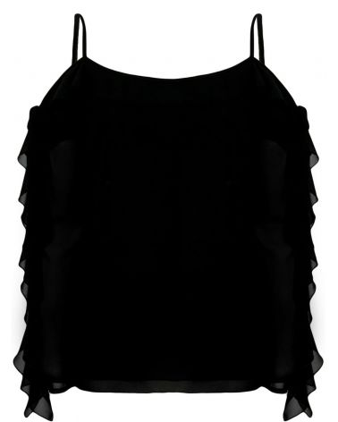 Blusa ml c/ruches