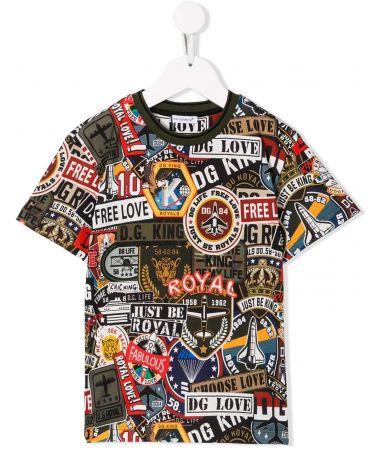 T-Shirt mm giro militar patch
