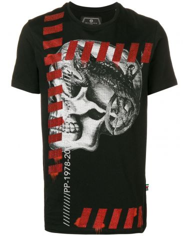 T-Shirt platinum mm giro Skull