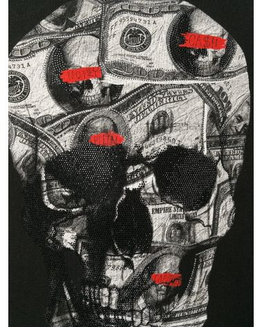 Felpa cappuccio Dollar