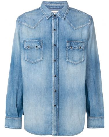 CAMICIA ML DENIM TEXAS
