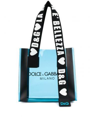 Shopping pvc + serigrafia + framis D&G Milano