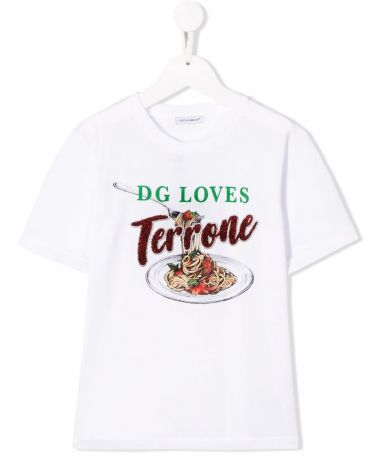 T-SHIRT MM GIRO ST.D&G LOVES TORRONE