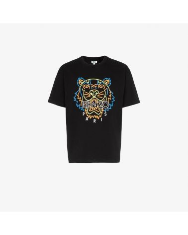 T-Shirt mm giro st.Neon Tiger