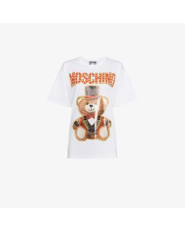 T-Shirt mm giro St.Moschino Orsetto