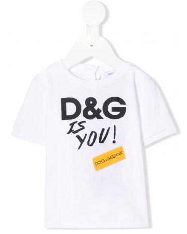 T-SHIRT MM GIRO ST. D&G IS YOU
