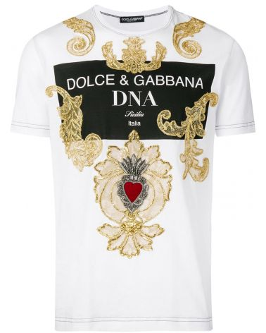T-SHIRT MM GIRO ST.D&G DNA