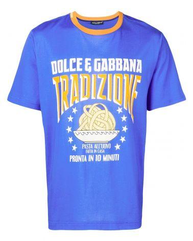 T-Shirt mm giro st.D&G pasta