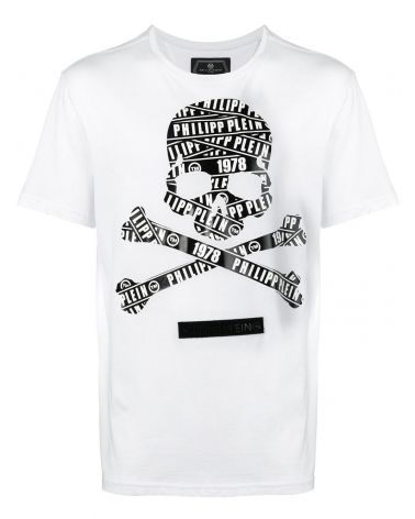 f50ec7e071e T-Shirt platinum mm giro Philipp Plein Tm
