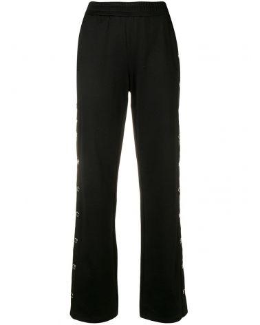 Pantalone sportivo c/fettuccia logo e bottoni