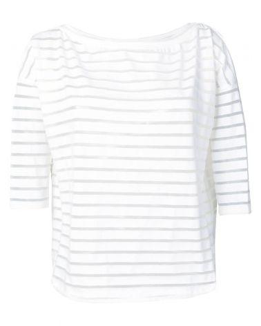 T-Shirt mm barca fondo stondato devorè