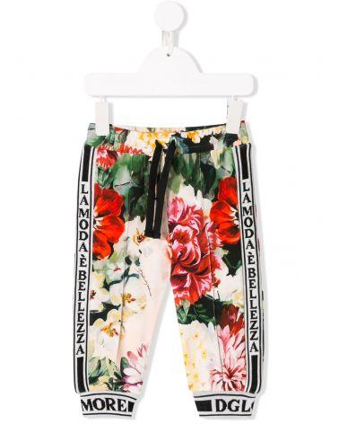 Pantalone felpa interlock st.fiori
