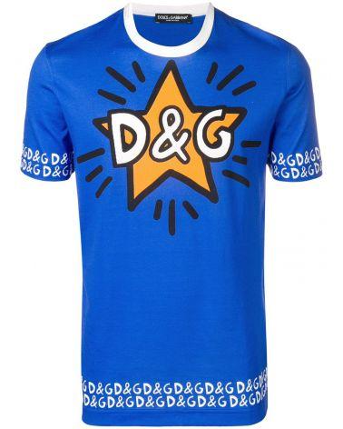 T-Shirt mm giro st.D&G stella
