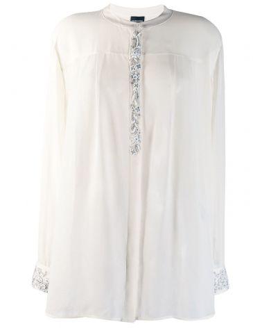 Camicia ml c/ricami