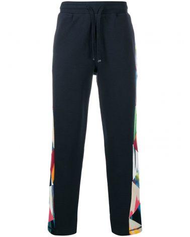 Pantalone felpa c/patchwork