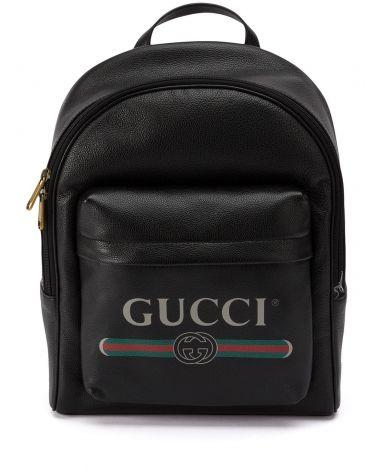 Zaino Gucci Print in pelle