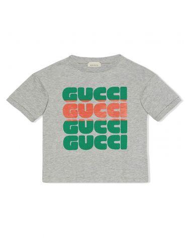 T-Shirt mm giro st.Gucci Bold