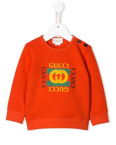 Felpa ml giro logo Gucci