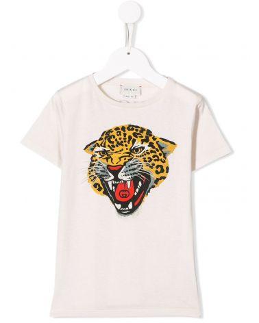 T-Shirt mm giro st.leopardo
