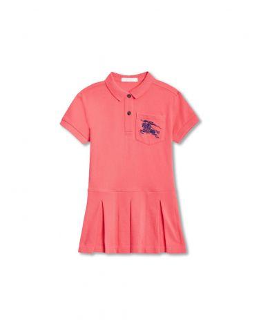 Vestito mm polo piquet logo cavaliere