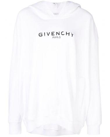 Felpa ml cappuccio Givenchy Paris Vintage