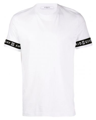 T-shirt mm slim fit c/strisce Givenchy 4G