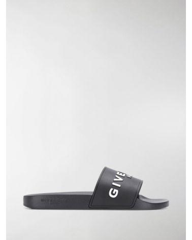 Sandalo slide flat