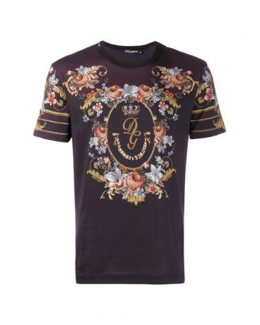 T-Shirt mm giro st.fiori