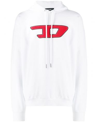 Felpa cappuccio logo D S-Division