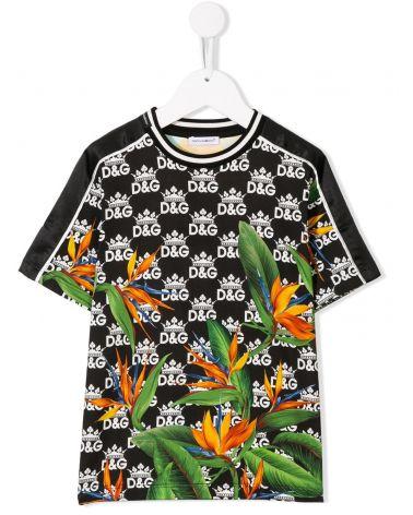 T-Shirt mm giro st.Giardini mix
