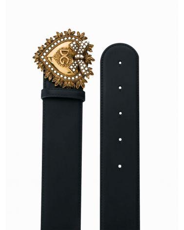Cintura logata cuoio lux + cuore