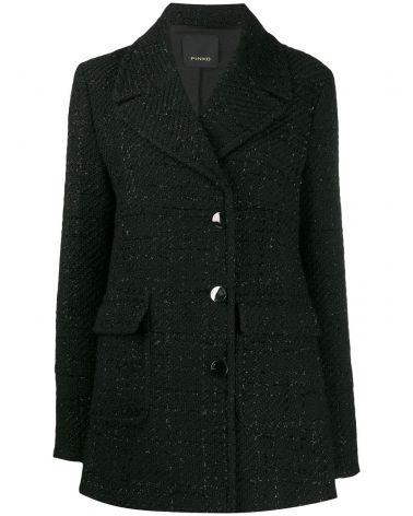 Cappotto in tweed bouclè lurex Scendere