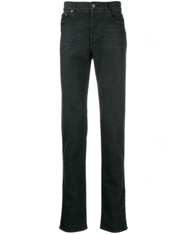 Jeans slim c/timbro Givenchy Paris