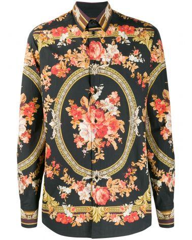 Camicia ml st.tappeto fiori