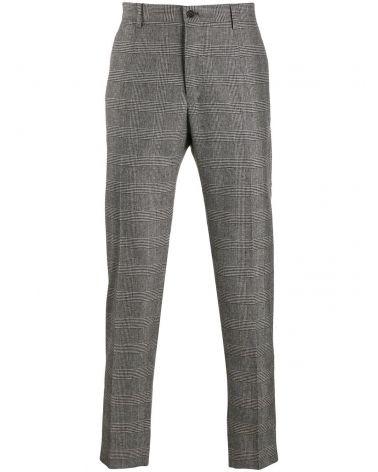 Pantalone quadri check tartan