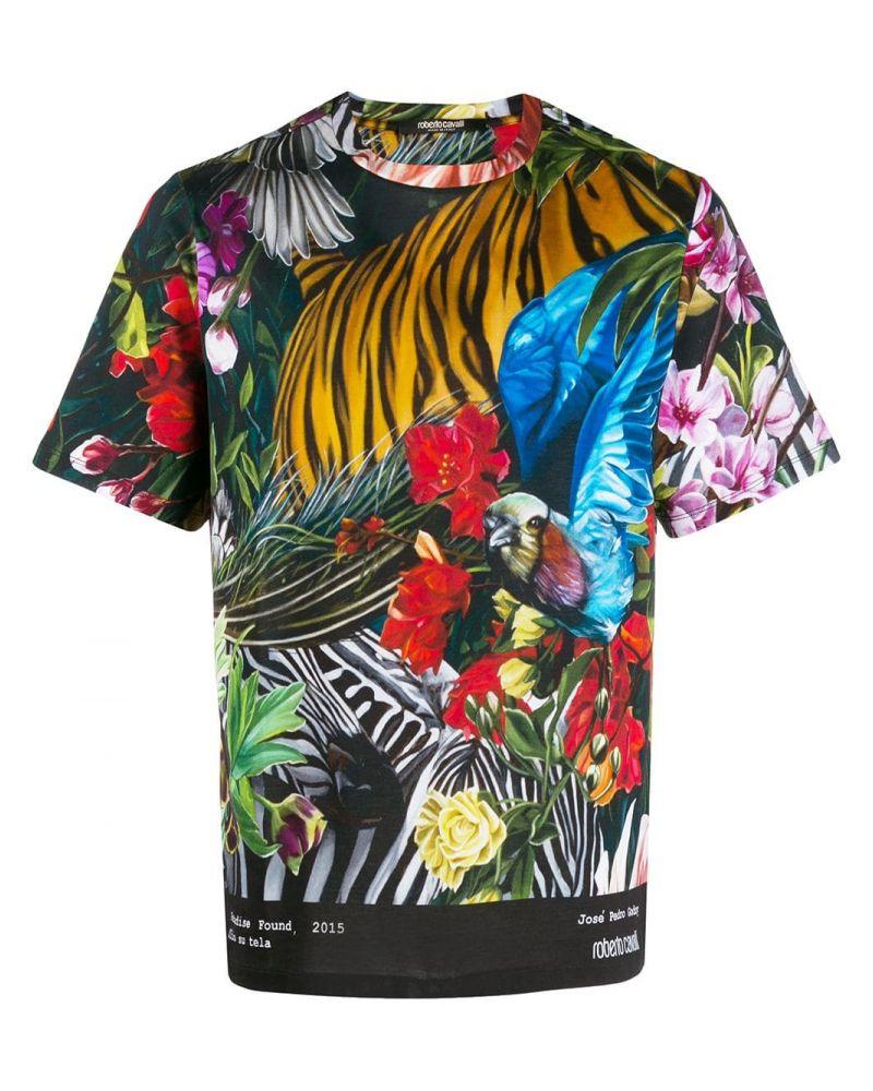 T-Shirt mm giro regular fit Paradise foud