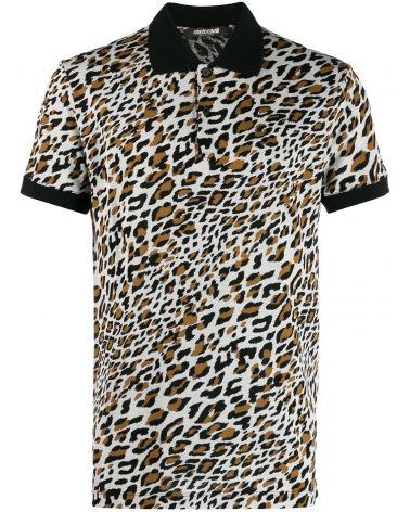 Polo mm slim fit st.leopardo