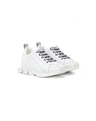 Sneakers allaccciata vitello nappa