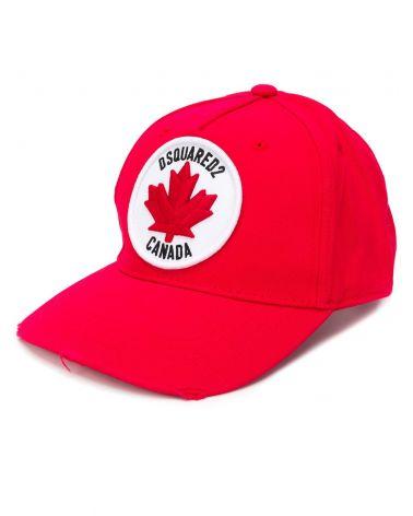 Cappello Baseball Gabardine Logo Canada