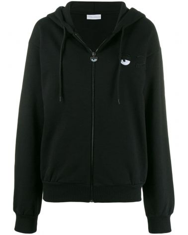 Felpa full zip cappuccio Small Eye