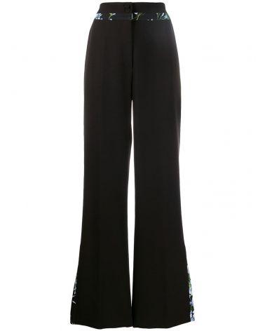 Pantaloni c/bordi stampa