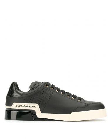 Sneakers bassa vitello nappa + st.cocco