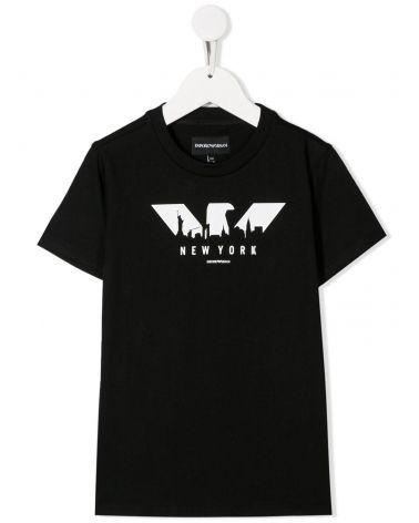 T-Shirt mm giro st.logo + città
