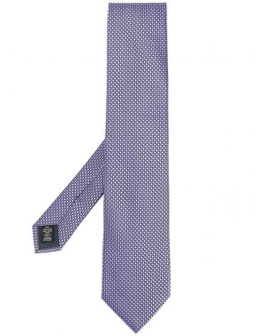 Cravatta micro fantasia