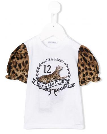 T-Shirt mm st.DG fan + pop.st.leo