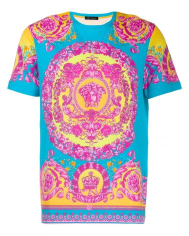 T-Shirt mm giro slim St.Flou Barocco