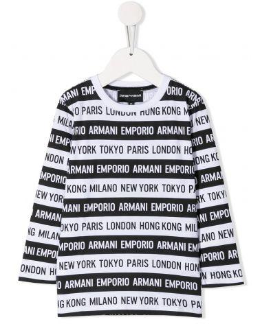 T-Shirt ml giro stampe + fasce