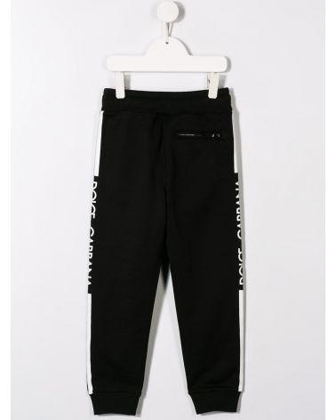 Pantalone felpa st.riga e logo