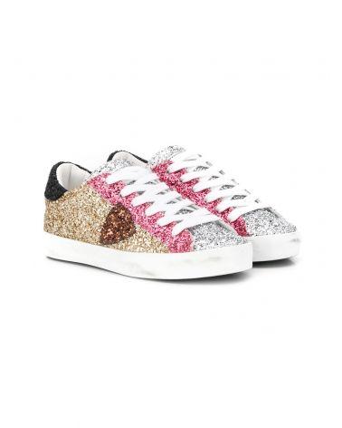 Sneaker Paris glitter